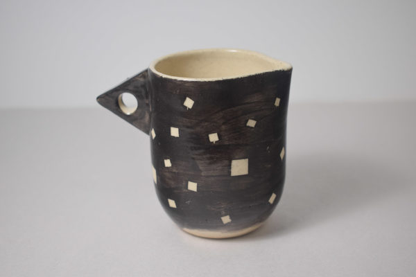 Ceramic cream pitcher