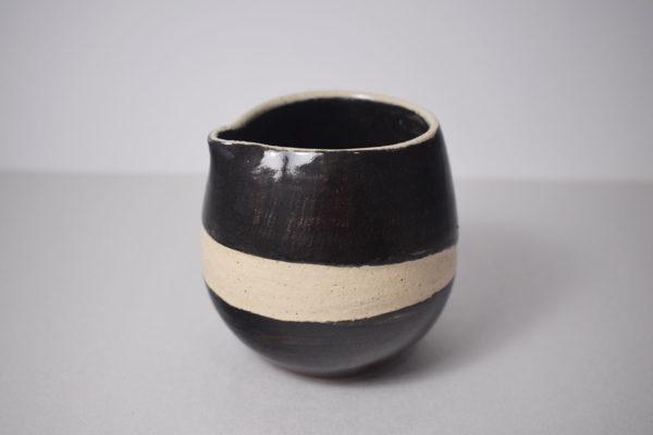 Ceramic cream pitcher