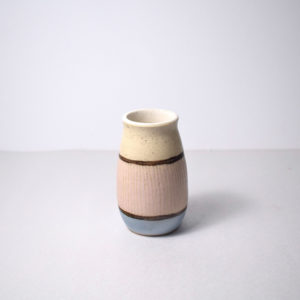 Small ceramic bud vase