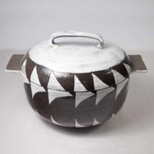 Ceramic Covered Dish